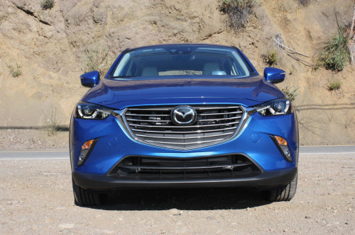 Tiny Mazda CX-3 wows with big style, crisp handling