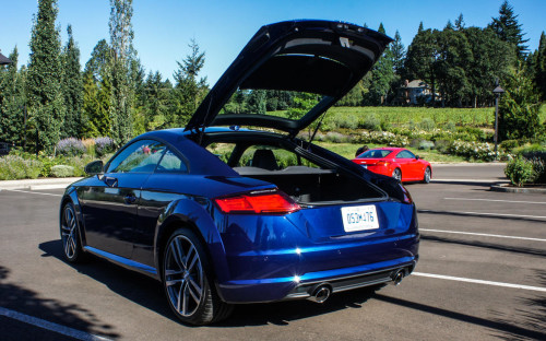 New Audi TT keeps your hands on the wheel and a death grip on the road
