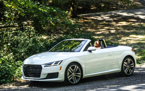 Sans top and two seats, Audi TT Roadster equals coupe handling