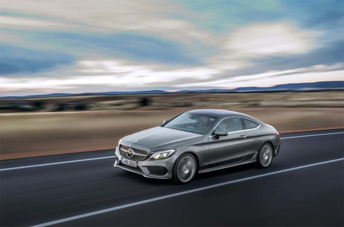Mercedes-Benz unveils C-Class Coupe ahead of September 2015 debut