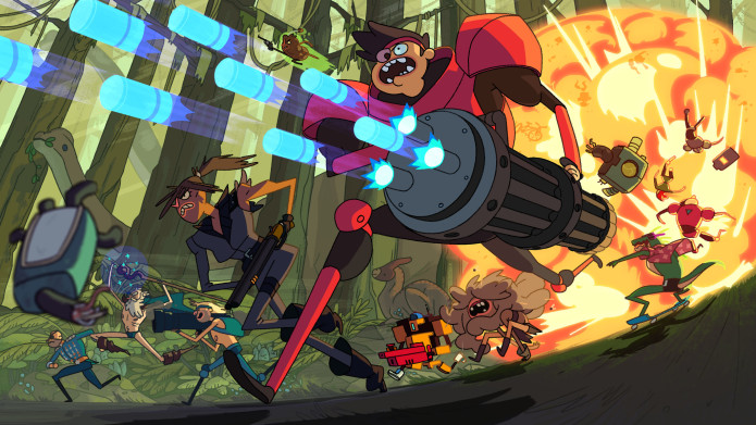 'Super Time Force Ultra' comes to PS4 and PS Vita on September 1st