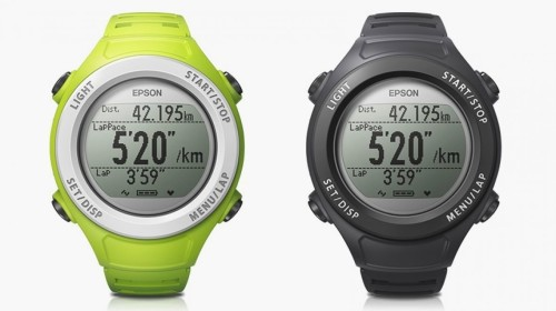 Epson Runsense SF-110 wearable monitors activities with GPS