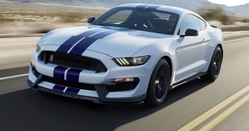 Ford's Shelby Mustang GT350 hits the track with a rebel yell
