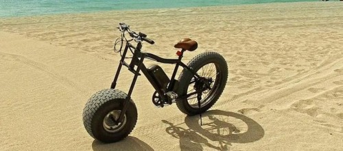 This electric all-terrain bike wants to go to the beach