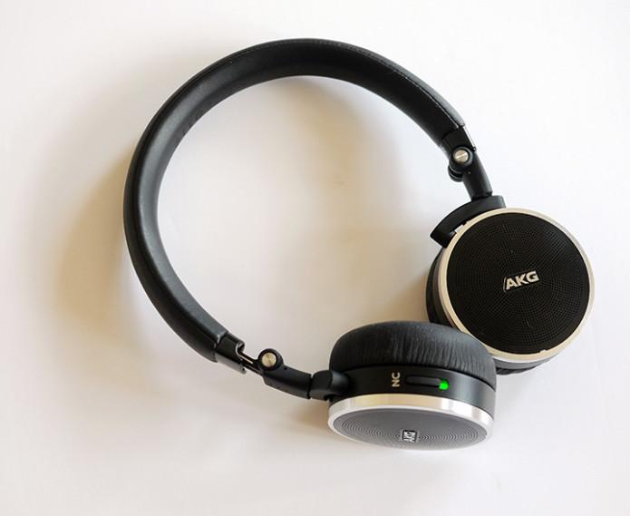 Harman AKG N60 NC luxury headphones feature real leather