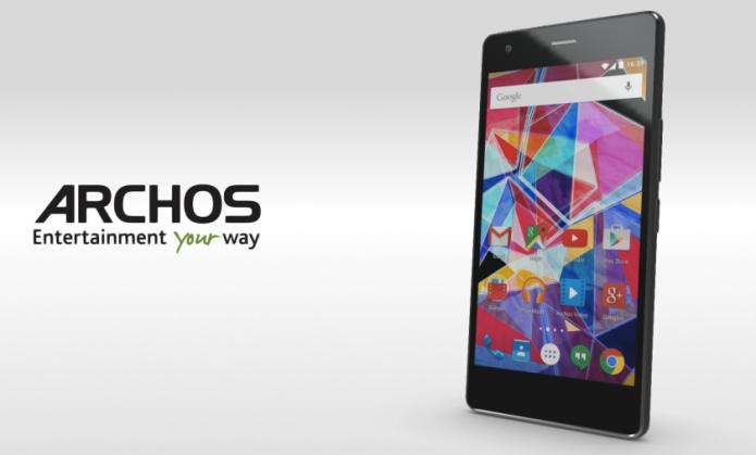 ARCHOS IFA 2015 smartphone team: 2 Android, 1 Windows 10
