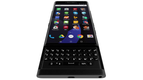 BlackBerry's Android-powered slider phone gets shown in motion