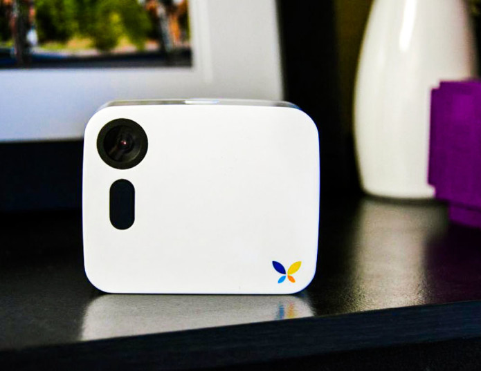 Butterfleye wireless home monitoring camera keeps an eye on things