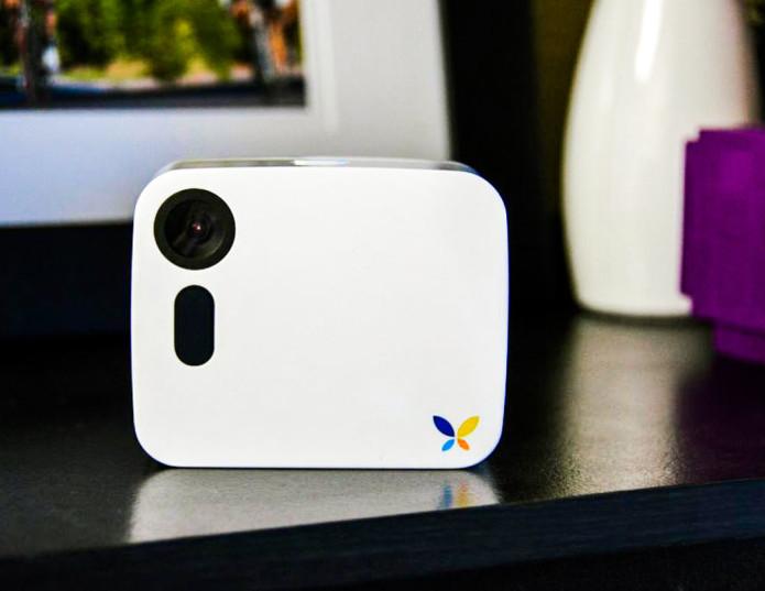 Butterfleye wireless home monitoring camera keeps an eye on things