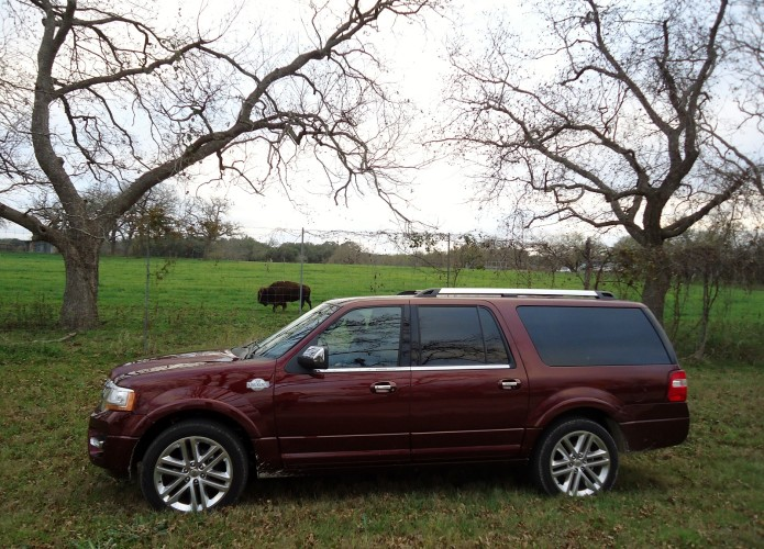 2015 Ford Expedition EL 4x4 King Ranch review: A full-size SUV that hauls like few others