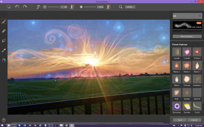 PARTICLESHOP BRINGS COREL PAINTER'S REAL-WORLD BRUSHES INTO PHOTOSHOP