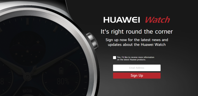 Huawei may be ready to launch its watch
