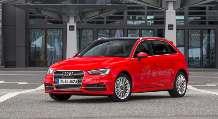 Audi prices up its 2016 A3 e-tron hybrid for US drivers