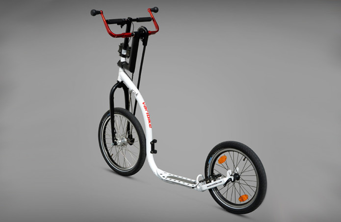Kick-Varibike has you pedal with arms instead of legs