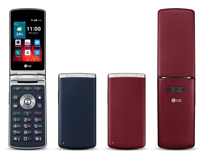LG thinks yesteryear with its new Wine Smart handset