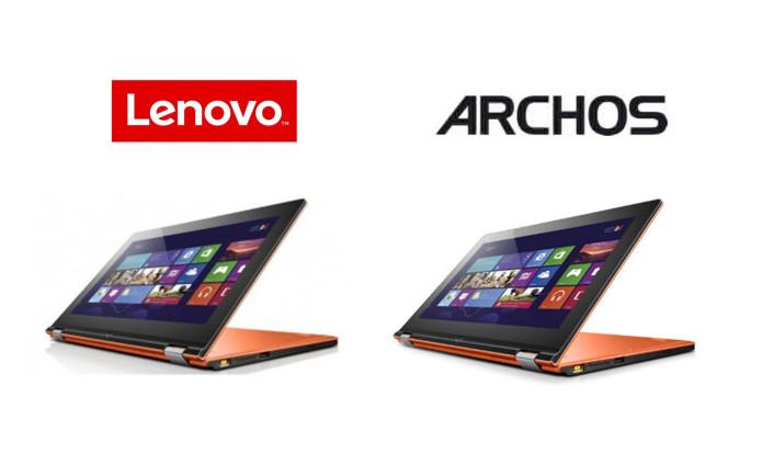 ARCHOS Flip sounds like a Lenovo Yoga, look like one