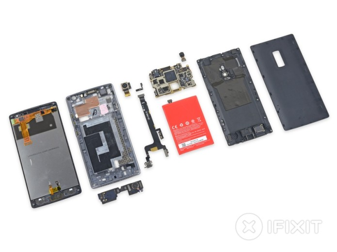 OnePlus 2 iFixit verdict: easier to repair than predecessor