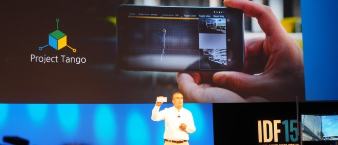 Intel and Google made a Tango phone with 3D RealSense