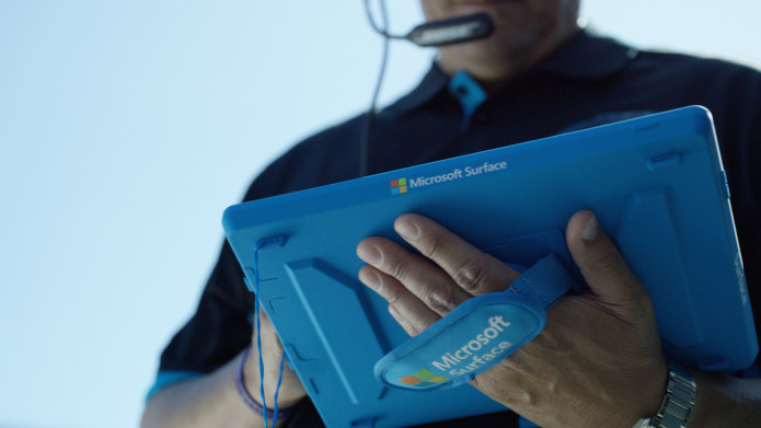 Microsoft's Surface Pro 3 is coming to the NFL sidelines