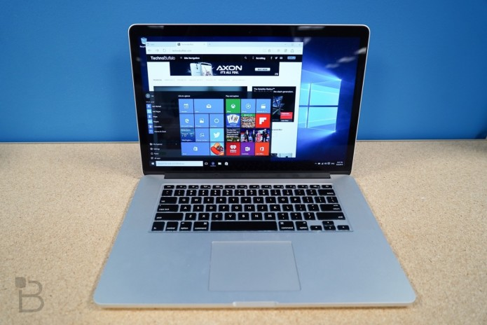 Apple Boot Camp updated with Windows 10 support