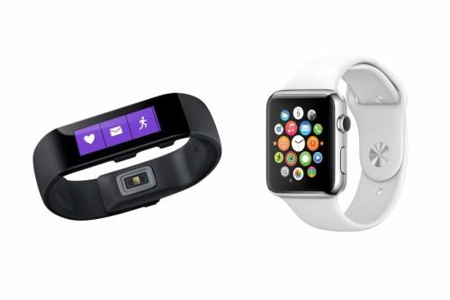 Microsoft Band vs Apple Watch comparison