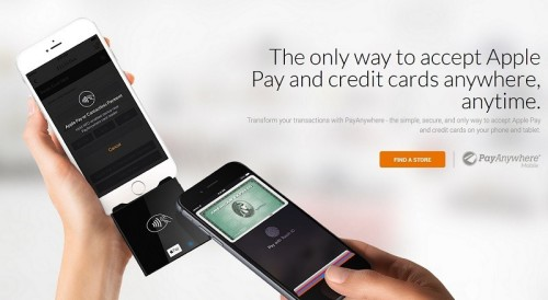 New PayAnwhere turns any iOs device into Apple Pay, credit card PoS