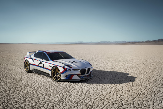 Take Two: BMW 3.0 CSL Hommage R debuts at Pebble Beach