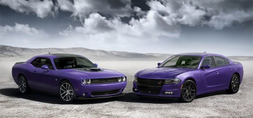 Dodge Charger and Challenger get Plum Crazy
