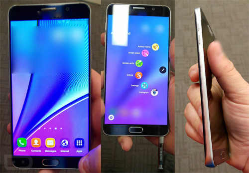 Galaxy Note 5 detail run-down released: every single photo