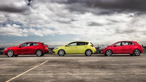 2015 Mazda3, Toyota Corolla and Hyundai i30 review
