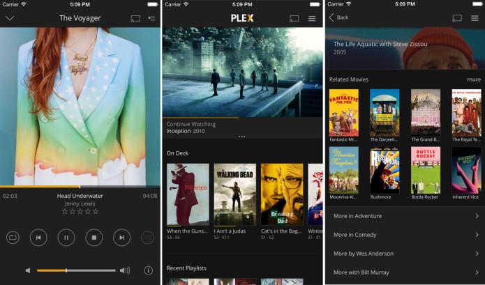 Plex's media-playing iOS app finally got an overhaul