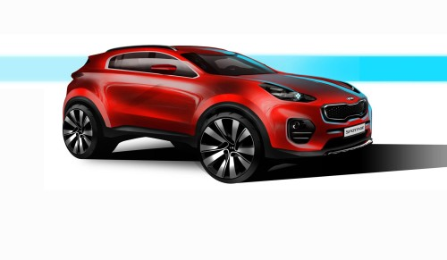 Kia promises new design direction with Sportage in Frankfurt