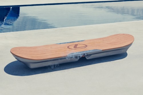 The Lexus Hoverboard Is Real And You Can't Own One