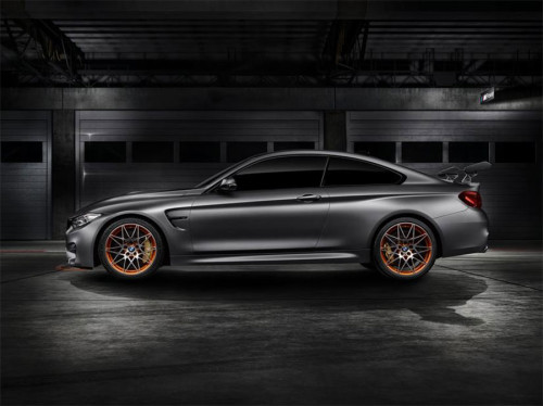BMW Concept M4 GTS is ready for the track