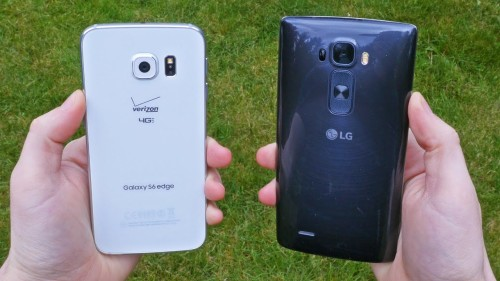 Samsung Galaxy S6 Edge vs LG G Flex 2: Features Compared