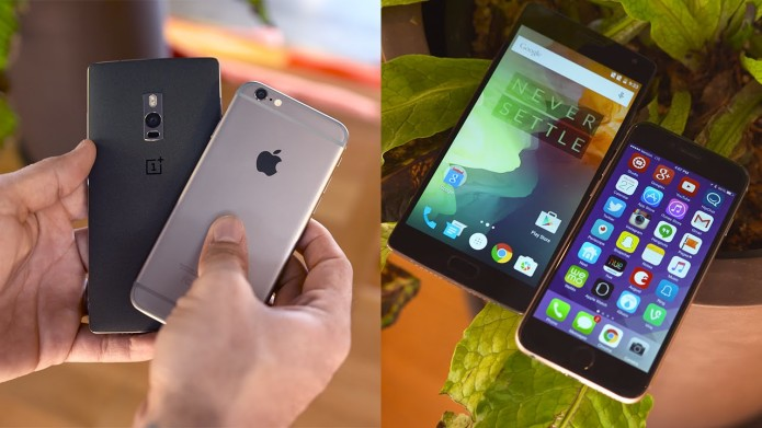 OnePlus Two vs iPhone 6 comparison review: The 2016 flagship killer holds its own against Apple's iPhone 6