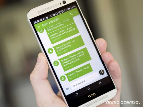 How to send, receive texts on two Android phones from a single number