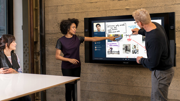 Microsoft's Surface Hub collaboration tool delayed until 2016
