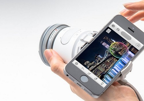 Olympus Air A01 Puts A 16-MP Camera With Interchangeable Lenses On Your Smartphone