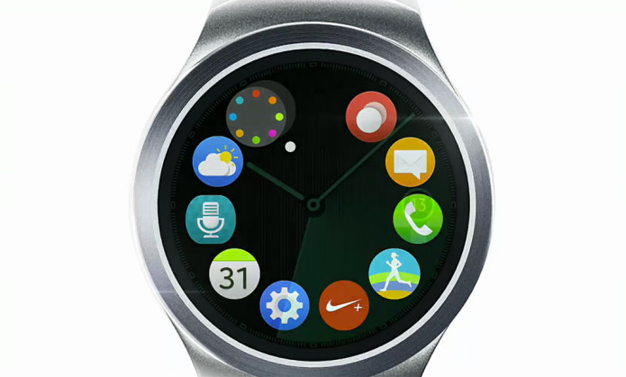 Samsung teases round Gear S2 smartwatch