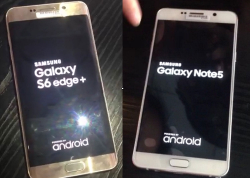 Galaxy Note 5, S6 edge+ gets an early hands-on leak