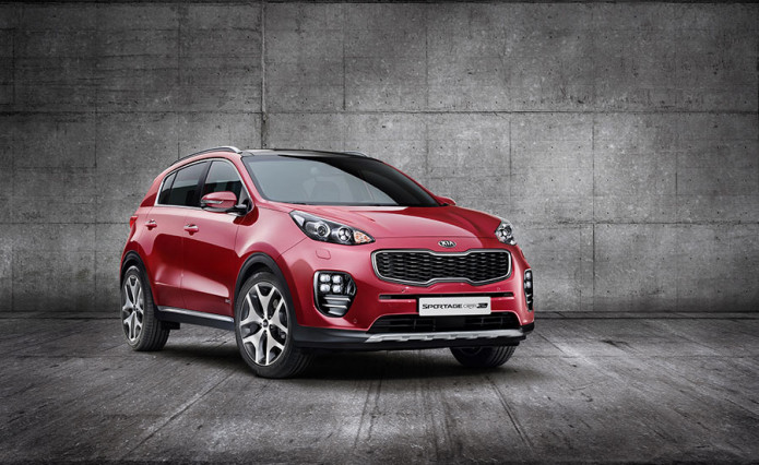 Fourth-gen Kia Sportage gets full exterior makeover