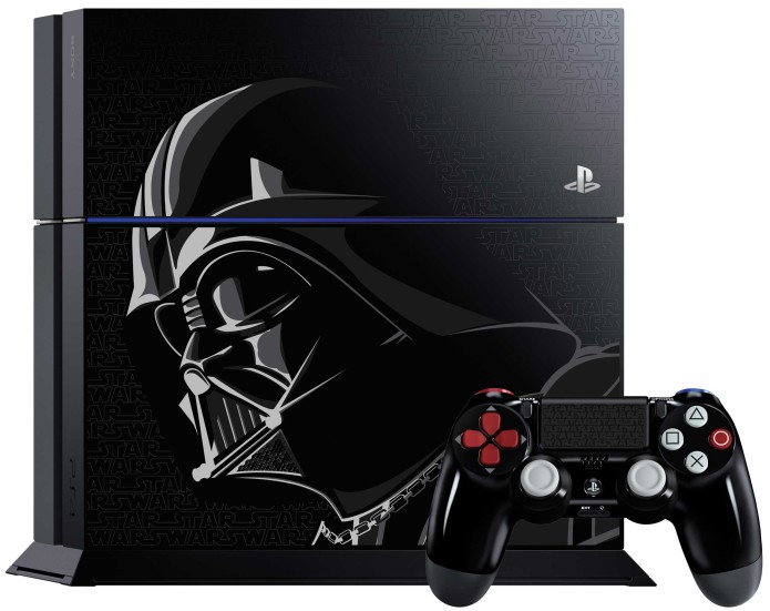 The Force is strong with limited Darth Vader PS4 edition