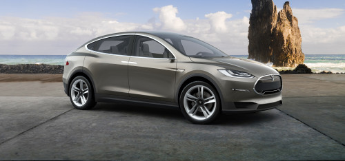Tesla Model X finally ready to hit the road next month