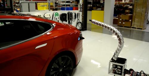 Tesla to bring charging stations to Manhattan's parking garages