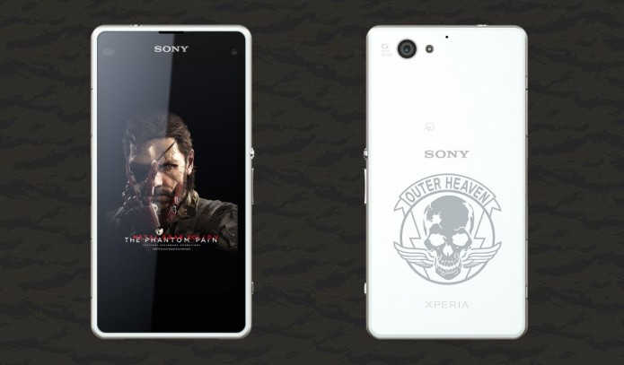 Sony debuts MGS5-themed Xperia, Walkman devices for Japan