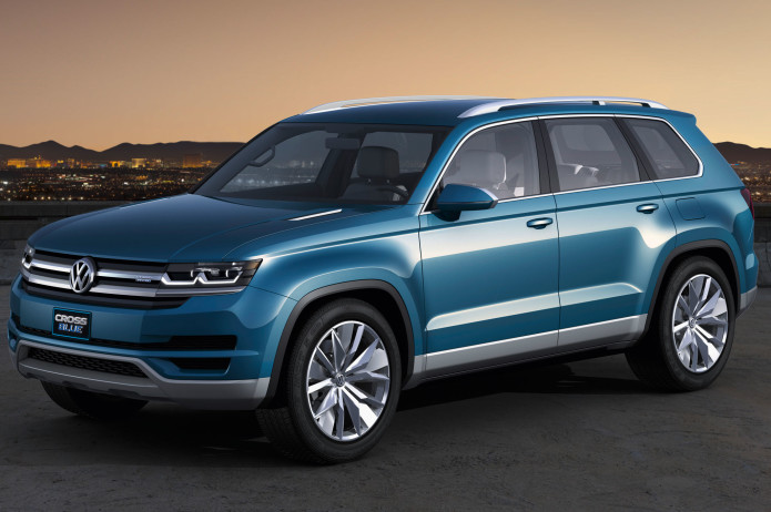 Volkswagen Confirms Mid-Size SUV Chattanooga-built trucklet will give VW a presence in segment.