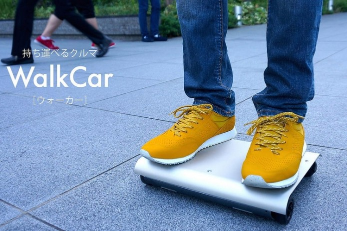 WalkCar Personal Transporter Can Squeeze Into A Laptop Bag