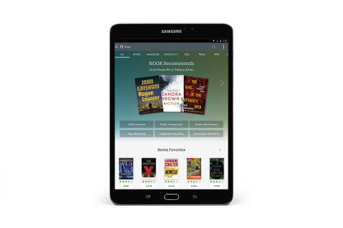 Samsung Galaxy Tab S2 NOOK revealed