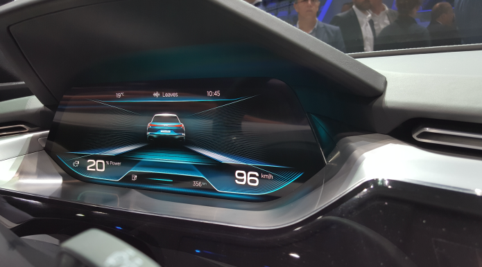 Check out Audi's incredible OLED-packed e-tron quattro cockpit